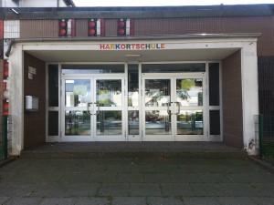 Harkortschule Eingang